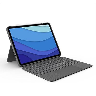 【Logicool】Combo Touch(iK1275GRA) iPad Pro 12.9インチ