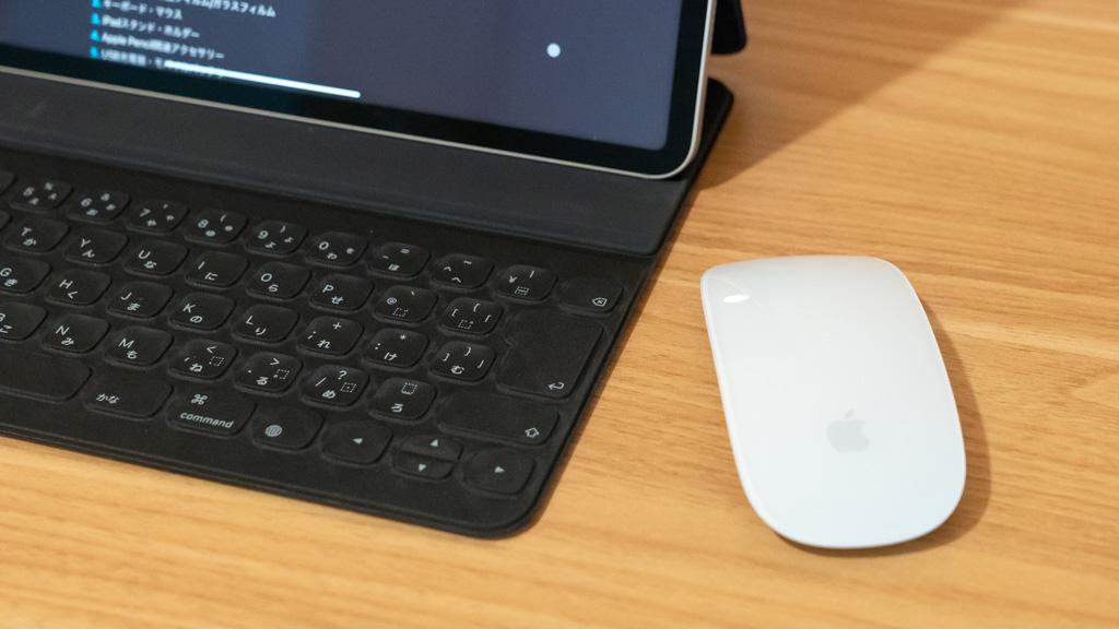 iPadにBluetoothマウスを接続する