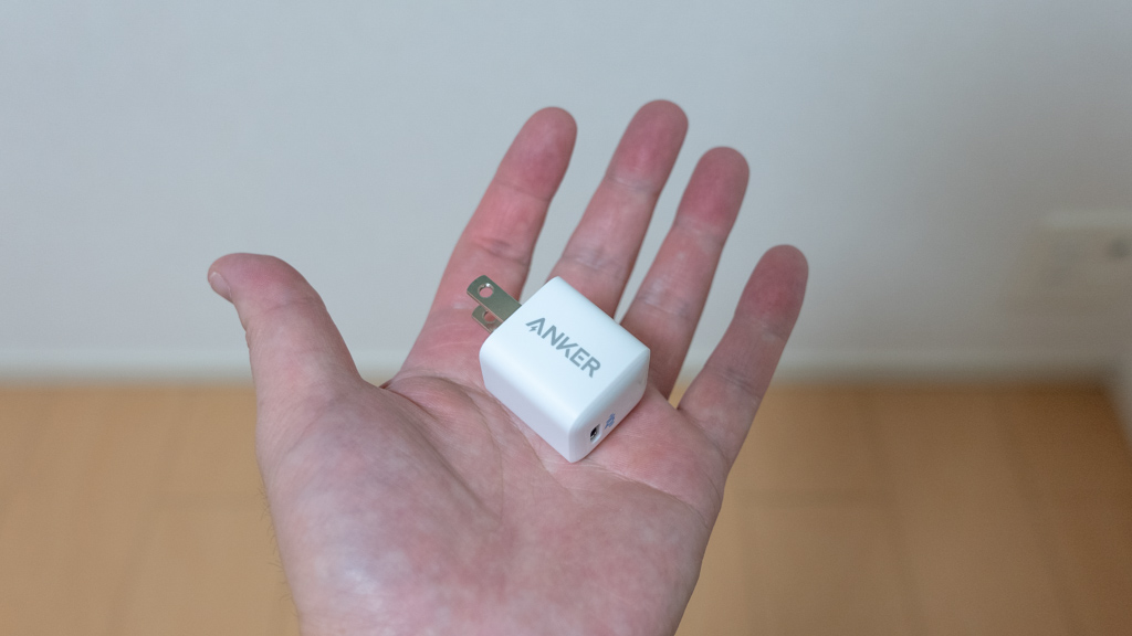 【Anker】PowerPort III Nano 20W コンパクトなUSB充電器