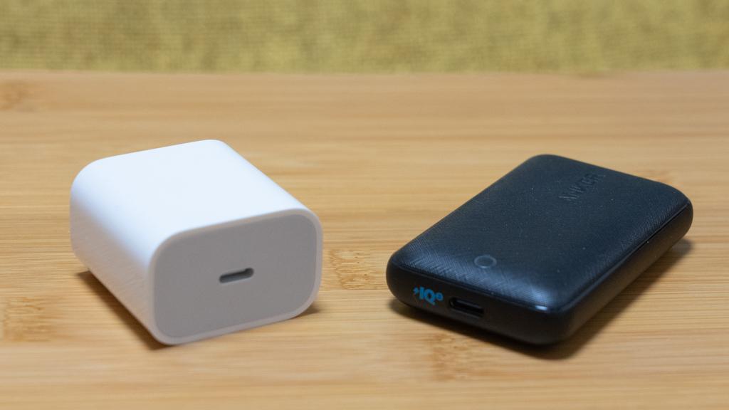 20W充電器と30W充電器で速度比較(iPad)