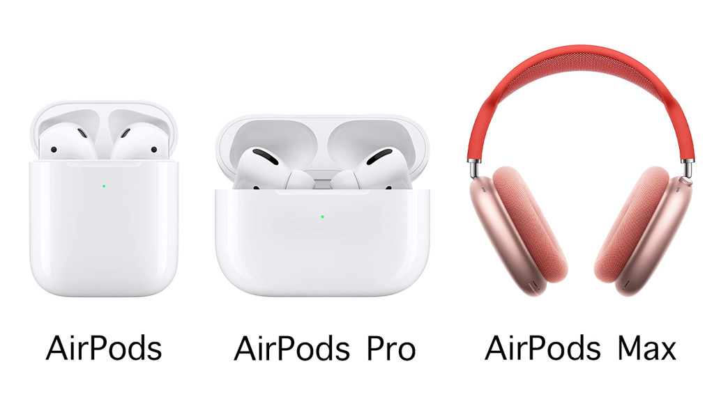 AirPods・AirPods Pro・AirPods Max