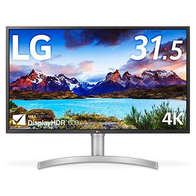 LG 32UL750-W│Display HDR 600の高性能ディスプレイ