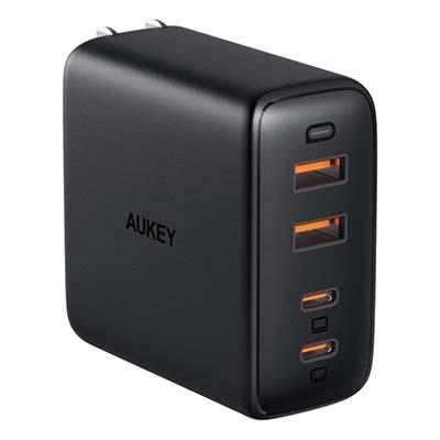 AUKEY 100W充電が可能なUSB-C充電器│充電速度を重視したい方に