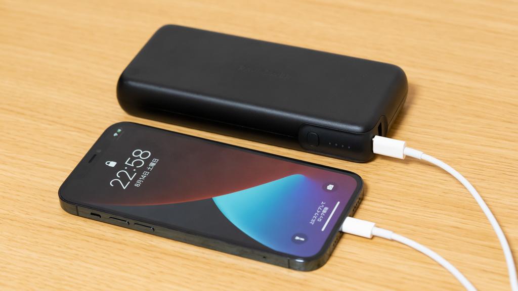 RAVPower 20000mAh & 60WモバイルバッテリーでiPhone 12 Proを充電