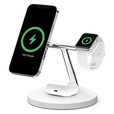 Belkin BOOST↑CHARGE™PRO 3in1ワイヤレス充電器 iPhone 12