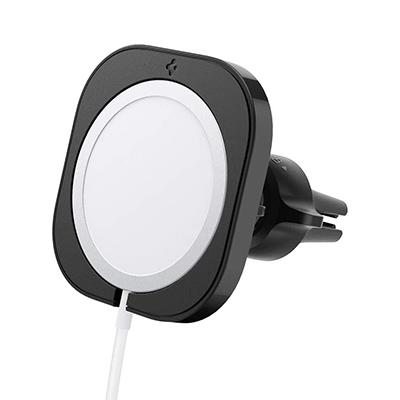 Spigen MagSafe充電器取り付け型車載ホルダー iPhone ワイヤレス充電器