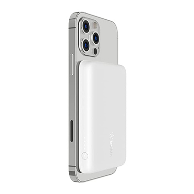 Belkin BOOST↑CHARGE™ MagSafe対応モバイルバッテリー iPhone ワイヤレス充電器