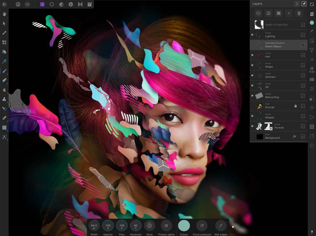 iPad Affinity Photo
