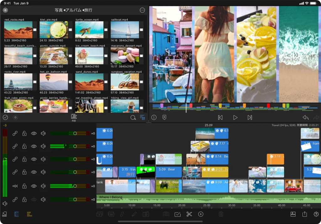 iPad LumaFusion