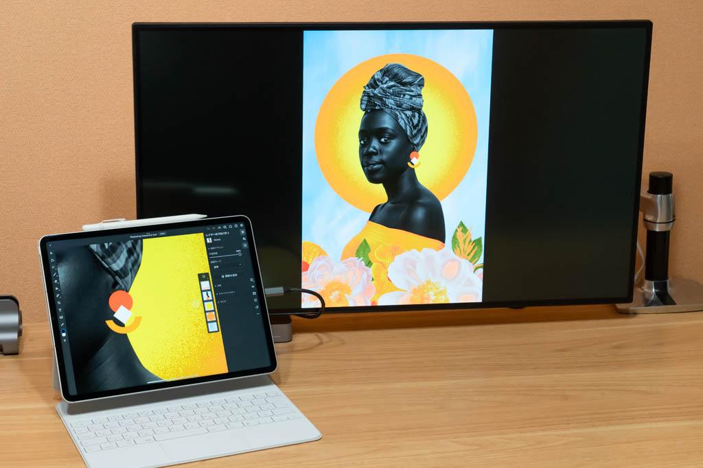 iPad セカンドスクリーン(Photoshop)
