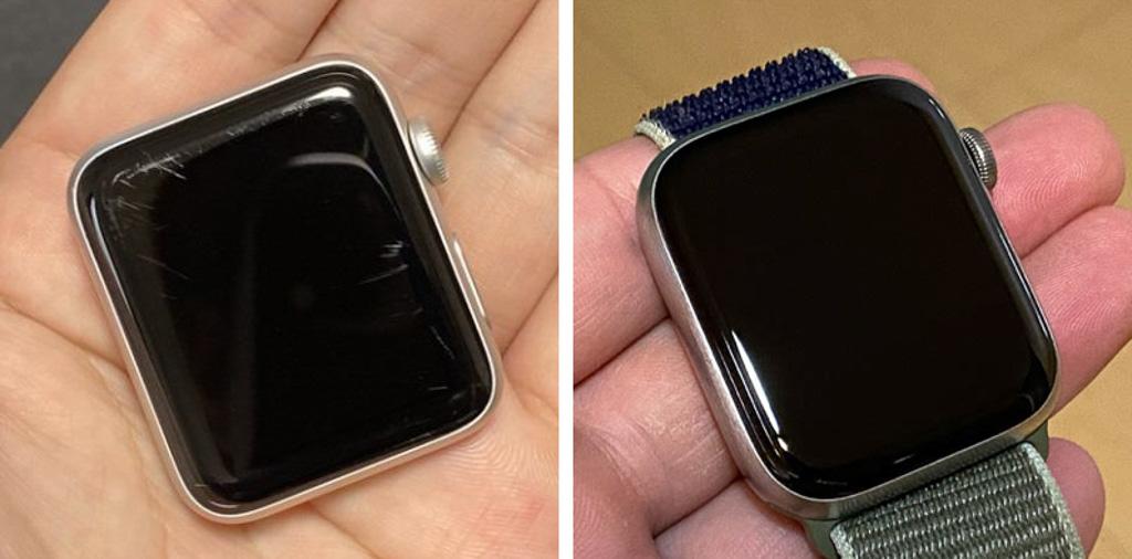 Apple WatchのIon-Xガラスとサファイアクリスタルガラス