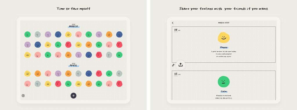 MOODA┃続かない人のための日記アプリ iPadおすすめアプリ